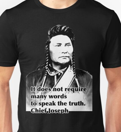 Chief Joseph Unisex T-Shirt