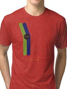 St. Clair 1966 station Tri-blend T-Shirt