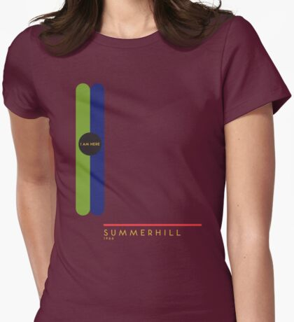 Summerhill 1966 station Womens Fitted T-Shirt