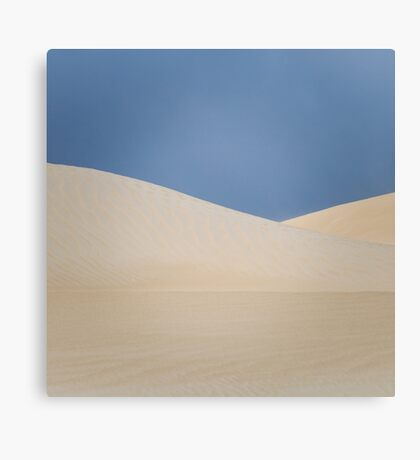 Dune layers Canvas Print