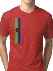 Wellesley 1966 station Tri-blend T-Shirt