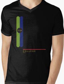 College 1966 station Mens V-Neck T-Shirt