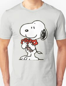 Snoopy Flowers T-Shirt