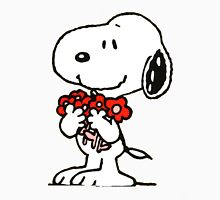 Snoopy Flowers Unisex T-Shirt