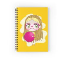 Honey Lemon Spiral Notebook