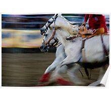 Rodeo Rush Poster