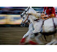 Rodeo Rush Photographic Print