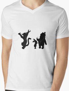 ipooh Mens V-Neck T-Shirt