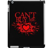 Can't Buy me Heart iPad Case/Skin