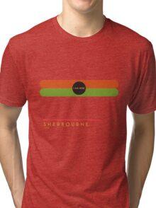 Sherbourne 1966 station Tri-blend T-Shirt