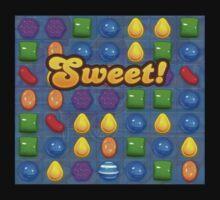 Sweet Candy Crush saga game Kids Tee