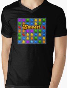Sweet Candy Crush saga game Mens V-Neck T-Shirt