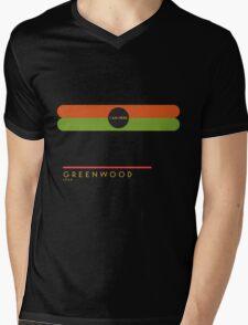 Greenwood 1966 station Mens V-Neck T-Shirt