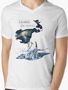 Tears in Sky Mens V-Neck T-Shirt
