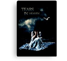 Tears in Sky Canvas Print