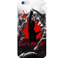 Let's Rock iPhone Case/Skin