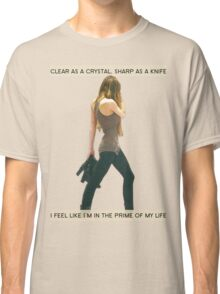 Crystal Clear, Knife Thin Classic T-Shirt