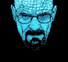 Walter White (Blue Gold) Sticker