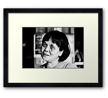 She Only had Real Friends Framed Print