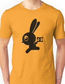 Make your own luck bunny shirt, now with leg! Unisex T-Shirt