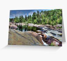 Onaping Falls , Northern Ontario Greeting Card