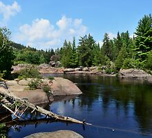 Onaping Falls Northern Ontario  by Elaine  Manley