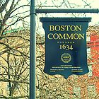 Boston Common - Founded 1634 by Nathan Jekich