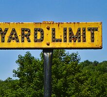 Railway Yard Limit Sign by PineSinger