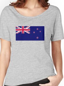 Flag of New Zealand Women's Relaxed Fit T-Shirt