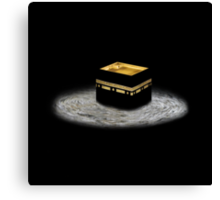 Kaaba T Shirt and iPhone case and iPad case Canvas Print