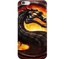 Mortal Kombat logo iPhone Case/Skin
