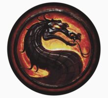 Mortal Kombat logo by upcs