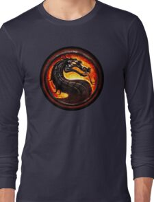 Mortal Kombat logo Long Sleeve T-Shirt