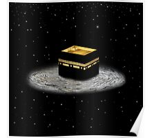 Kaaba Stars prints, cards, posters, iPad and iPhone case Poster