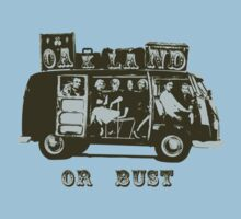 Oakland Or Bust! Kids Clothes