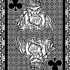 Simple King of Clubs by RonMock