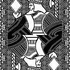 Simple King of Diamonds by RonMock