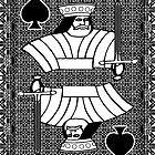 Simple King of Spades by RonMock