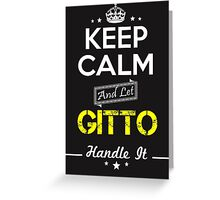 GITTO KEEP CLAM AND LET  HANDLE IT - T Shirt, Hoodie, Hoodies, Year, Birthday Greeting Card