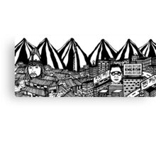 Korea Canvas Print