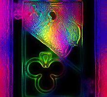 Glass Jack of Clubs by RonMock
