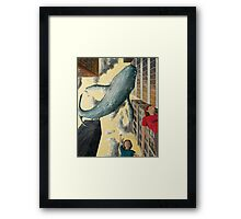 Whale In The Sky Framed Print