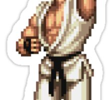 Ryu Victory Pose Street Fighter Sticker