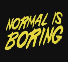 Normal is Boring One Piece - Long Sleeve