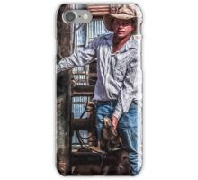 Brindley park 1 in Paint iPhone Case/Skin