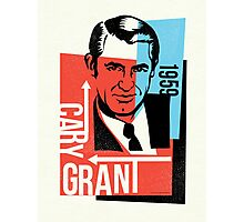 Original Graphic Design Portrait of Cary Grant  Photographic Print