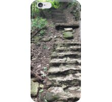 Old Outdoor Steps iPhone Case/Skin