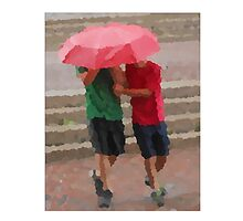 Brothers In Step Rain or Shine by BridgetVonBriel