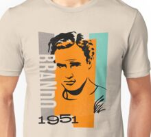 Original Graphic Design Portrait of Marlon Brando Unisex T-Shirt