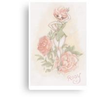Flower Fairy - Rosy  Canvas Print